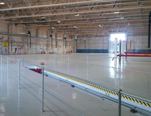 Hangar Floor Resin Flooring