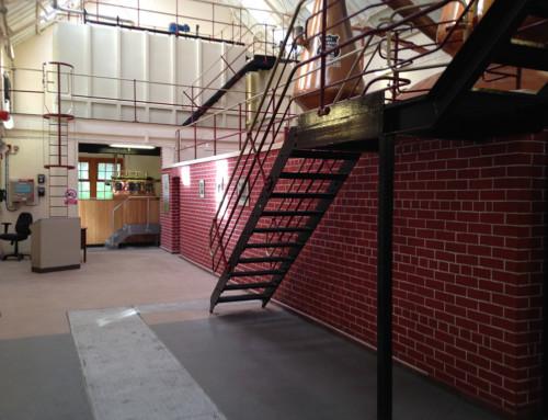 Glenkinchie Distillery Floor Refurbishment